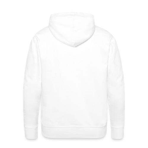 Sweet-Shirt Blanc - Sweat-shirt à capuche Premium pour hommes