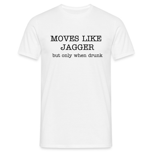 MOVES LIKE JAGGER ( MENS) - Men's T-Shirt