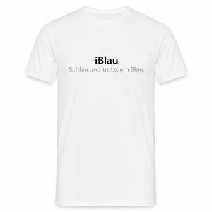 iBlau - Männer T-Shirt