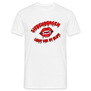 Siebenbürgen - liegt mir im Blut. Schickes Shirt für echte Transylvanier!  - Männer T-Shirt
