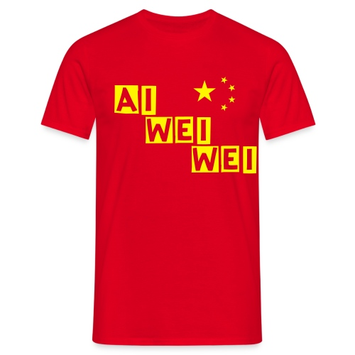 Ai China - Männer T-Shirt