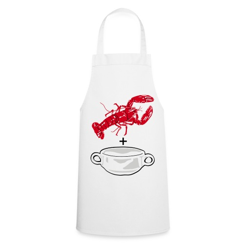 Lobster soup on Apron - Cooking Apron