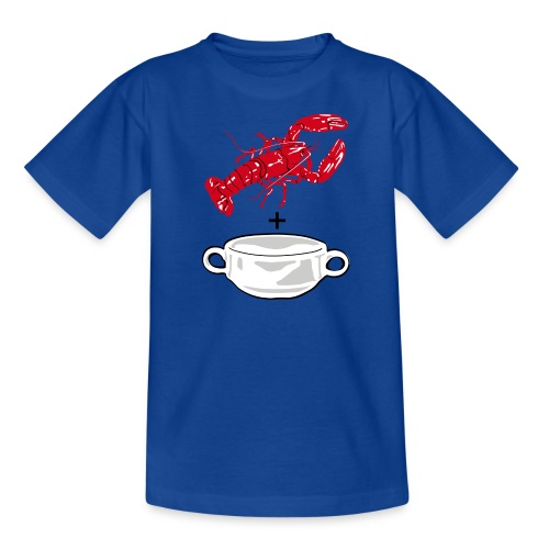 Lobster Soup for Kids - Teenage T-shirt