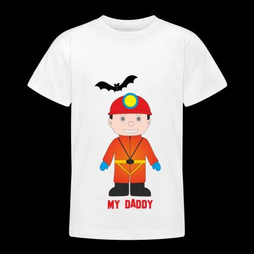 Il mio papà - Maglietta per ragazzi