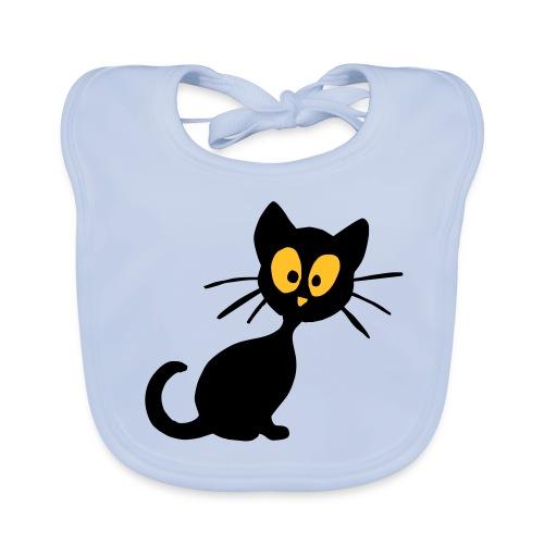 Lätzcen Katze - Baby Bio-Lätzchen