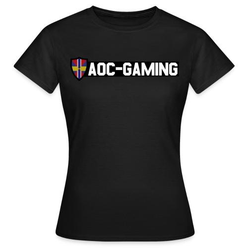 AOC-Gaming T-shirt DAM Svart - T-shirt dam