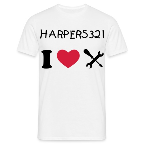 Harpers321 Double Sided print T-Shirt - Men's T-Shirt
