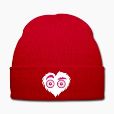 Furry Heart Monster - Winter Hat
