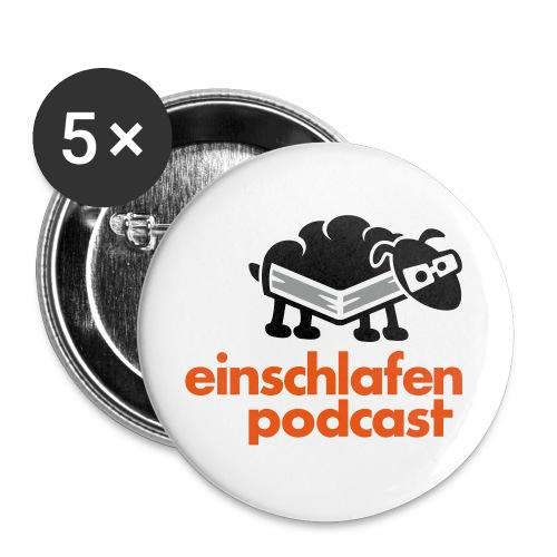 Button groß - Buttons groß 56 mm (5er Pack)