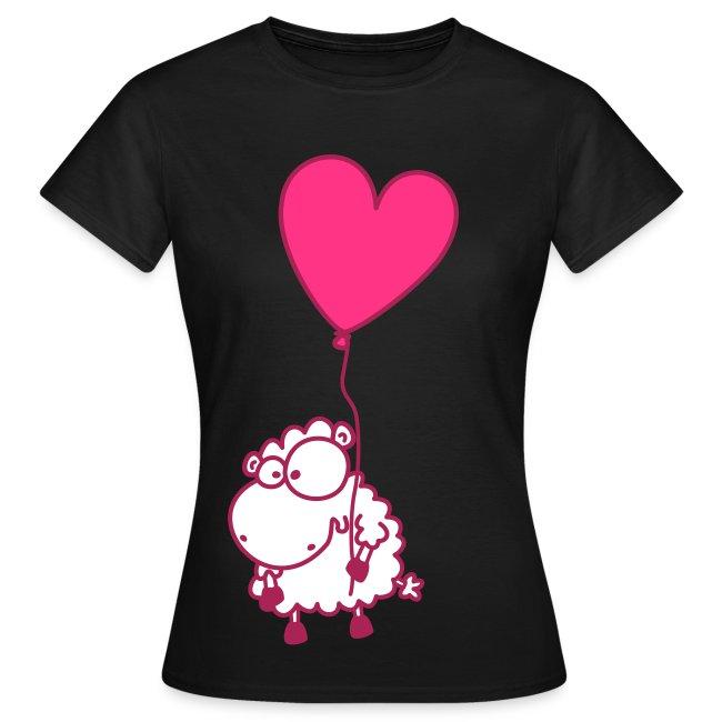 Pinkes Herz Schäfchen