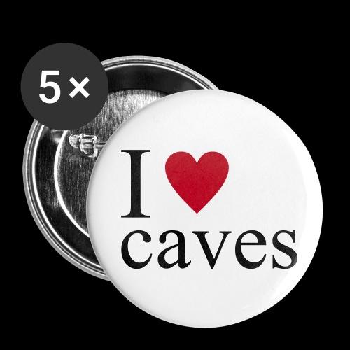 Confezione da 5 spille media (32 mm) - speleologia,speleo,regalo,gift,gadget,cavers