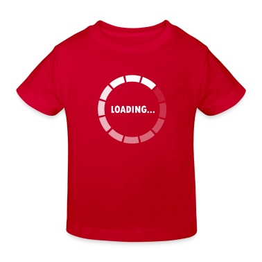 Ajax Loader - loading - waiting T-shirt bambini