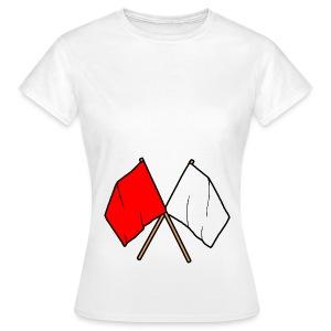 Frauenshirt  Fahnen - Frauen T-Shirt