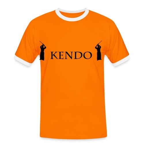 Männershirt Kendo - Männer Kontrast-T-Shirt