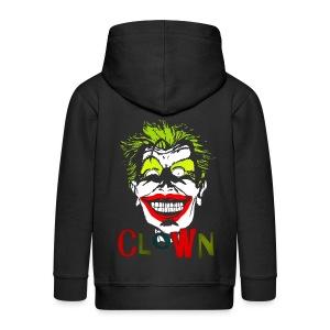 Veste à capuche enfant clown - Veste à capuche Premium Enfant