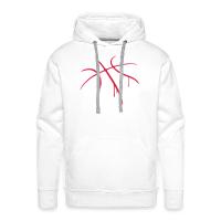 Men's Premium Hoodie with design Basketball Paint