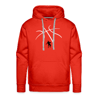 Men's Premium Hoodie with design Basketball and Player