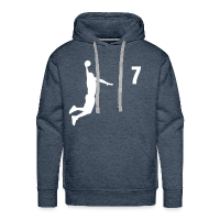 Men's Premium Hoodie with design Basketball