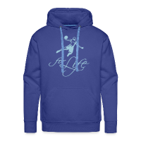 Men's Premium Hoodie with design Baller For Life