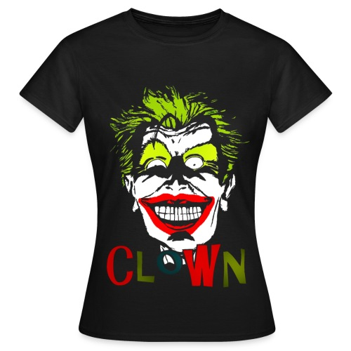 T shirt femme clown - T-shirt Femme