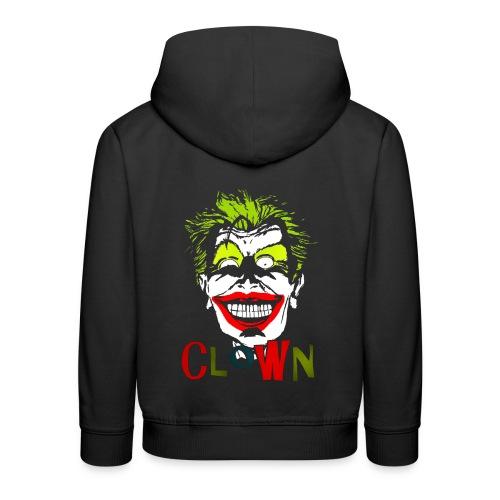 Pull à capuche enfant clown - Pull à capuche Premium Enfant