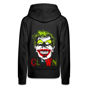 Sweat à capuche femme clown - Sweat-shirt à capuche Premium pour femmes