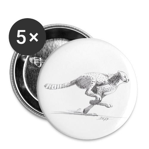 Guépard - Badge moyen 32 mm