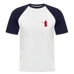Shirt Chudan klein - Männer Baseball-T-Shirt