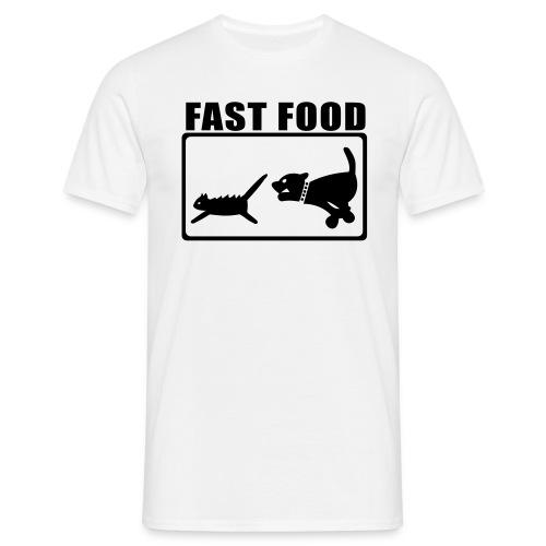 Fast Food - Mannen T-shirt