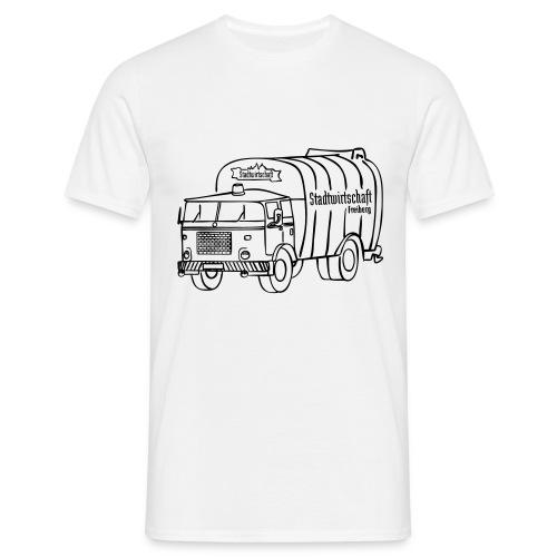 stawi Herren T-Shirt (BOBR Brustprint schwarz) - Männer T-Shirt