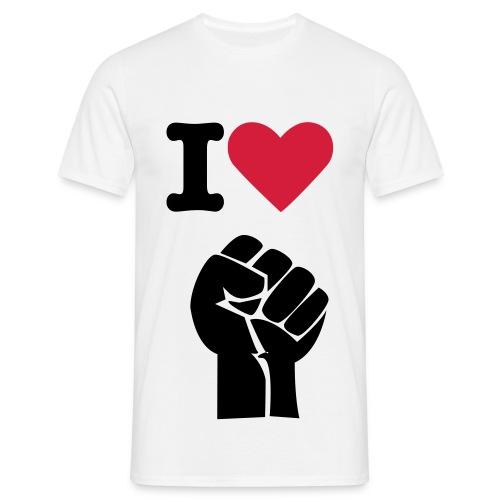 I <3 FIST - Men's T-Shirt