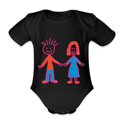 Babybody - Økologisk kortermet baby-body