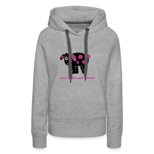 Schwarzes Schaf 2.0 pink - Frauen Premium Hoodie
