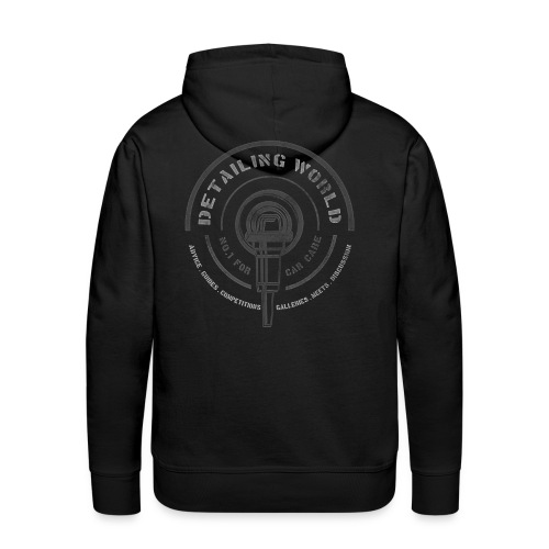 Detailing World 120112 Hooded Fleece Top - Men's Premium Hoodie