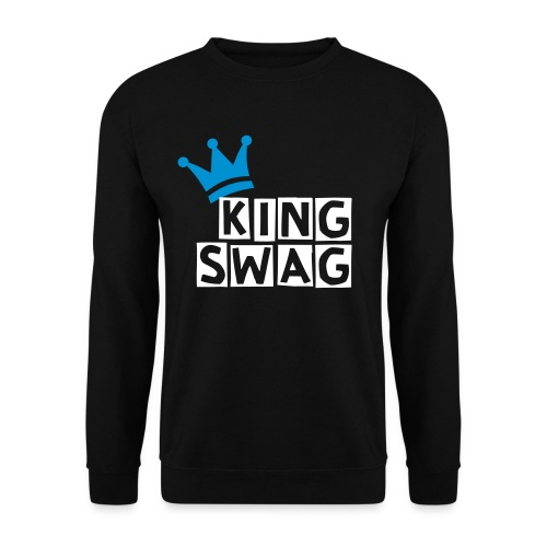 King Swag - Black - Men's Sweatshirt