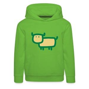 Kleine Muh Kuh Grün - Kinder Premium Hoodie