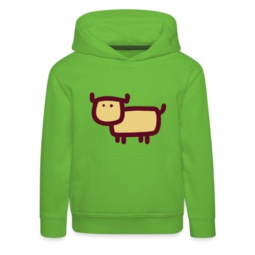 Kleine Muh Kuh Sorbet Rot - Kinder Premium Hoodie