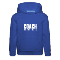 Kids' Premium Hoodie with design Basketball Coach