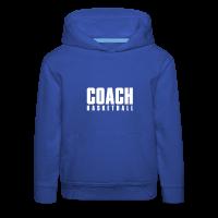Pull à capuche Premium Enfant avec motif Basketball Coach