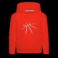 Pull à capuche Premium Enfant avec motif Basketball