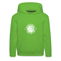 Kids' Premium Hoodie with design Basketball - I love this game