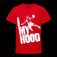 T-shirt Ado avec motif I Dunk My Hood