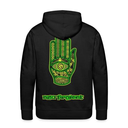 Ogu Hoodie Green - Männer Premium Hoodie