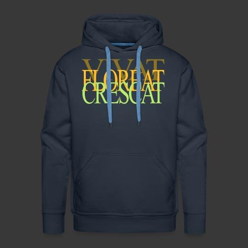 VIVAT FLOREAT CRESCAT - Men's Premium Hoodie