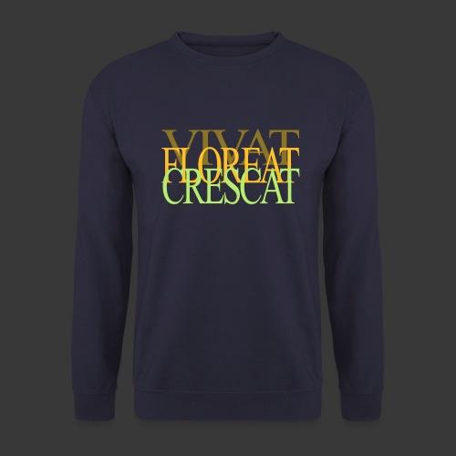 VIVAT FLOREAT CRESCAT - Men's Sweatshirt