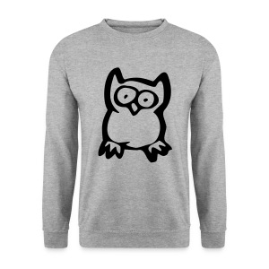 Eule - Männer Pullover