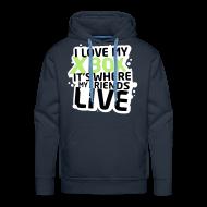 Hoodies & Sweatshirts ~ Men's Premium Hoodie ~ XBOX FRIENDS by kidd81.com
