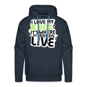 XBOX FRIENDS by kidd81.com  - Men's Premium Hoodie