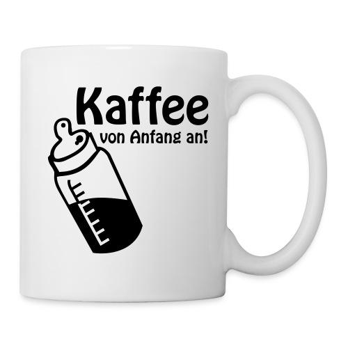 Kaffee von Anfang an - Tasse