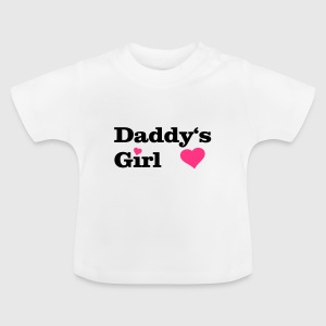 Daddy's Girl I love Dad i heart daddy, herz Baby T-Shirts - Baby T-Shirt